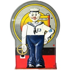 "Mechanical Bank ""Saluting Sailor"", circa 1920s"