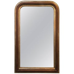 LaBarge Louis Philippe Style Parcel-Gilt Mirror