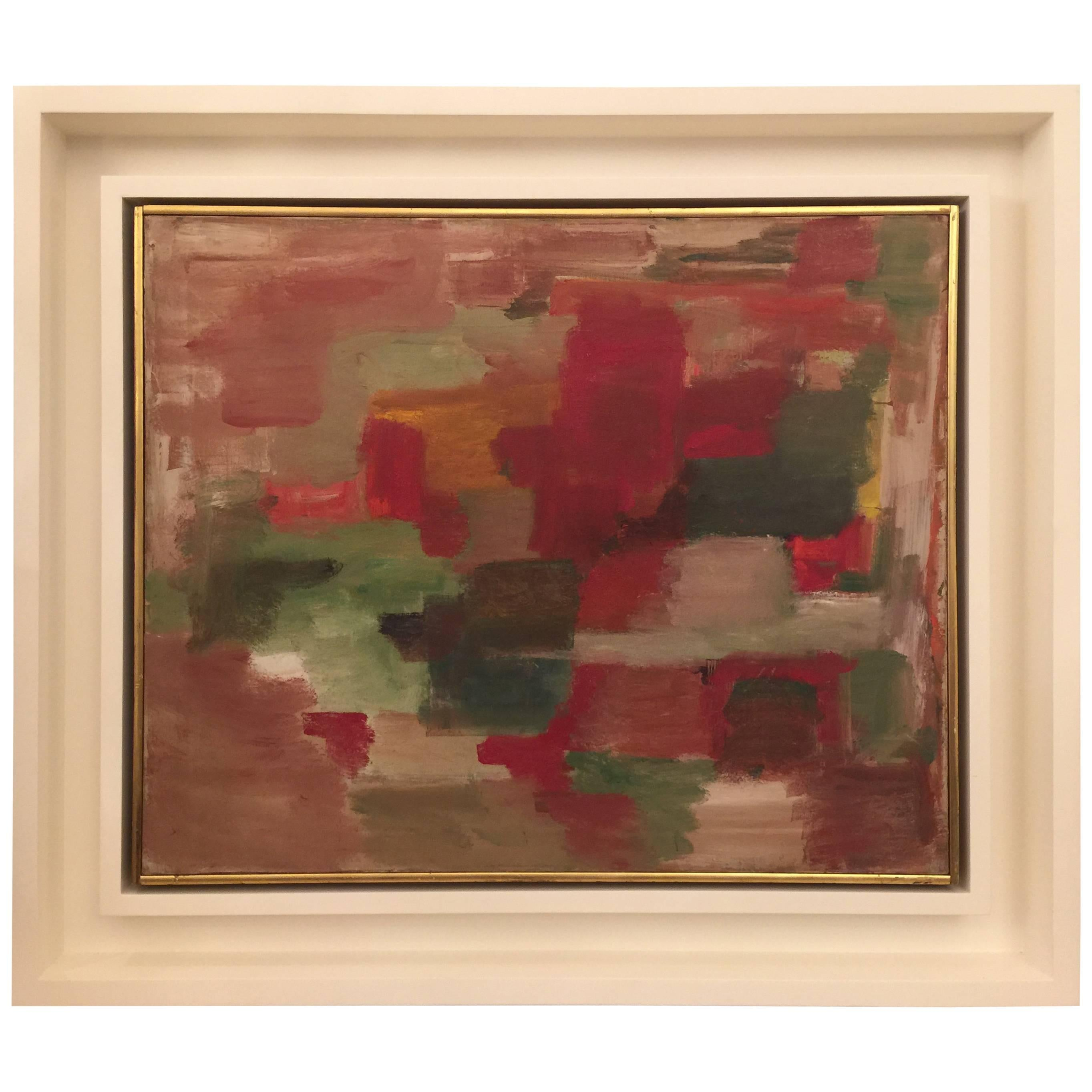 Havers Abstract/Cubist Oil Painting
