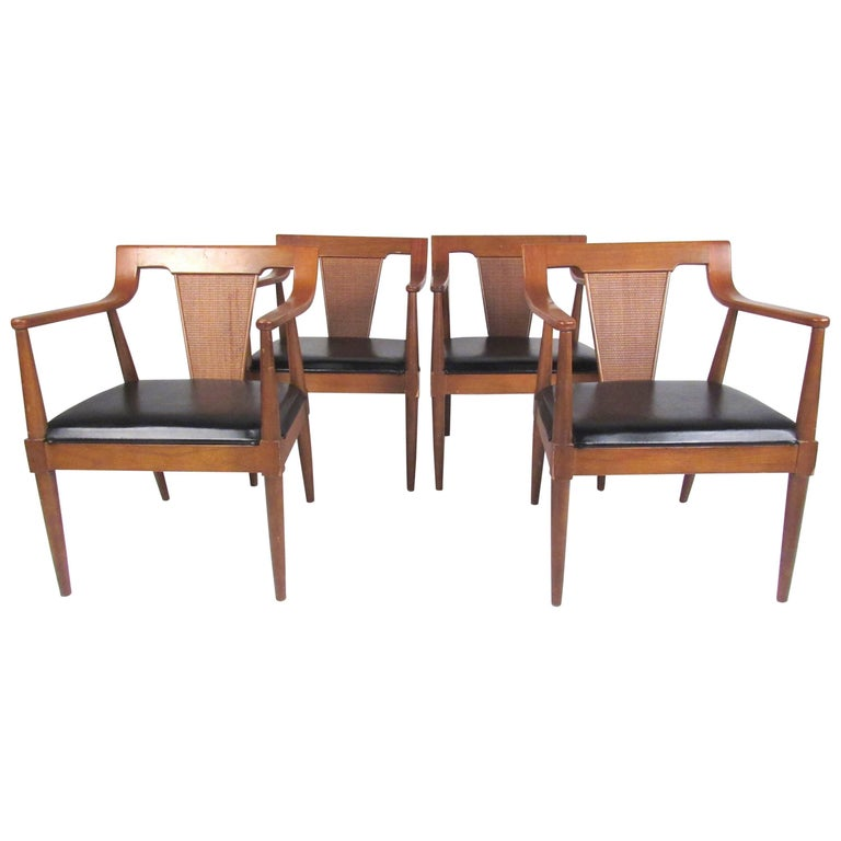 Stylish Set of American Modern Dining Chairs by Basic Witz