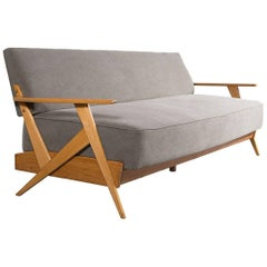 Midcentury Sofa by José Zanine Caldas, Brazilian Design