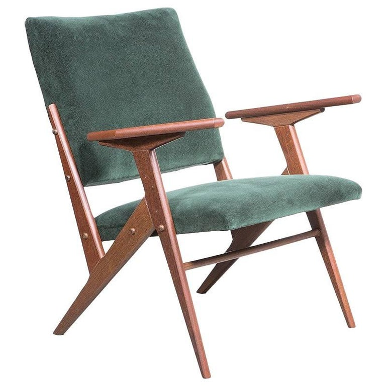 """Kid"" Armchair, José Zanine Caldas, Brazilian Midcentury For Sale"