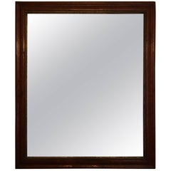 American Bird's-Eye Maple Mirror Frame, Early 19th Century