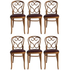 Six Beautiful Thonet Dining Chairs