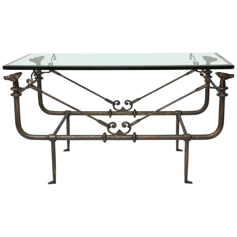 Coffee Table in the Manner of Giacometti For Sale
