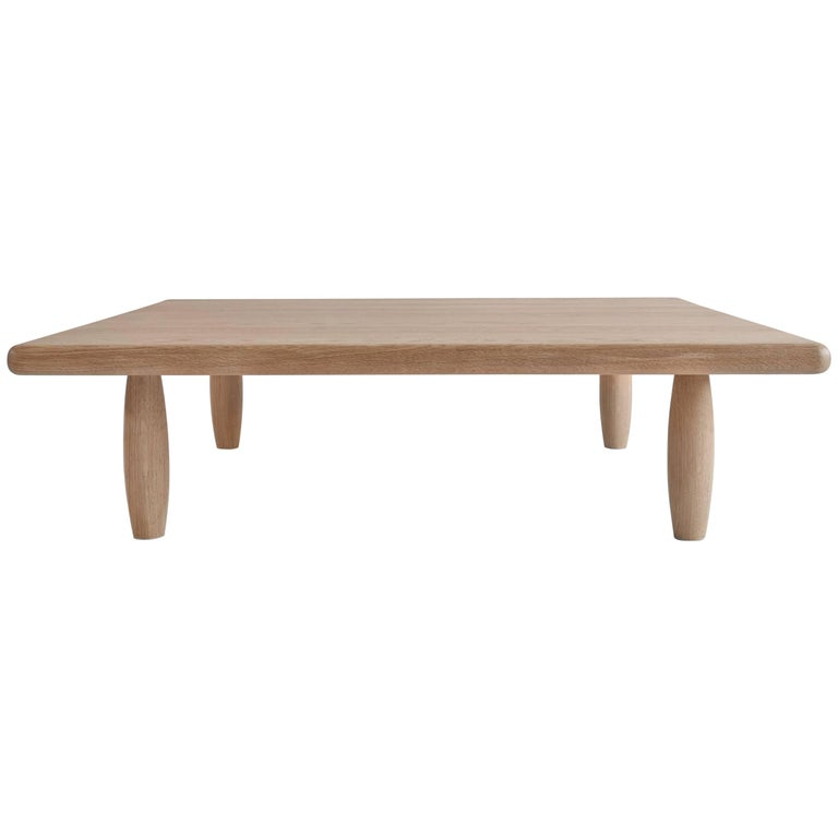NK Collection Peg Coffee Table