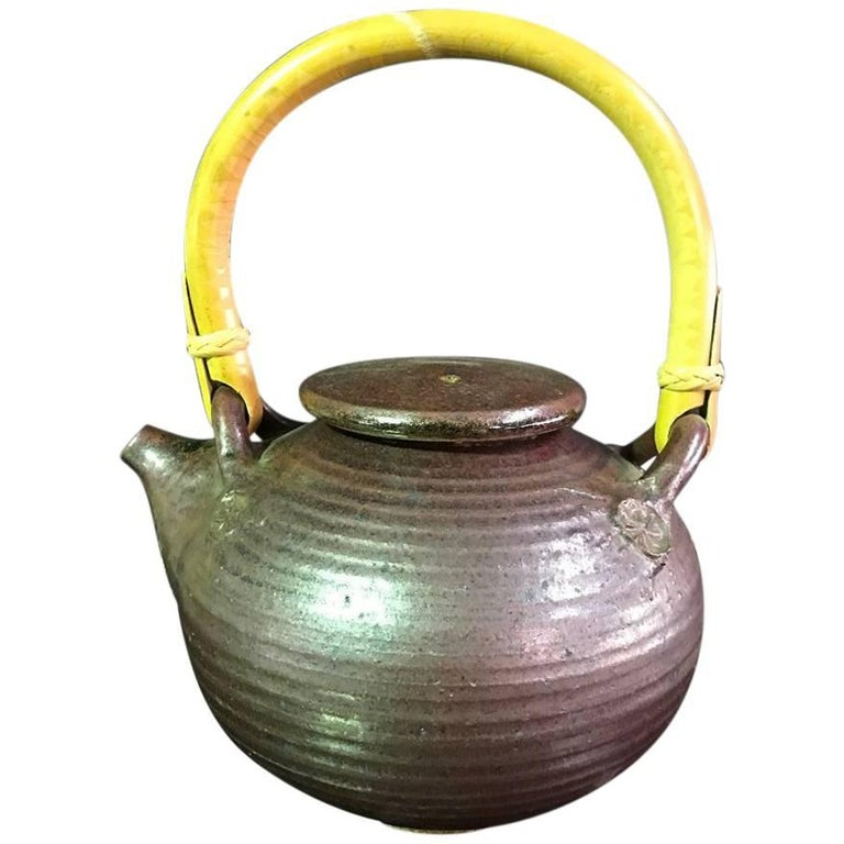 Wonderful Otto and Vivika Heino Hand Thrown Ceramic Teapot