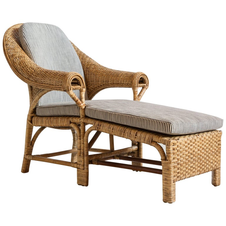 wicker rattan chaise pin replacement furniture outdoor cushions all and lounge lucia st about