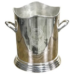 Louis Roederer Silver Plated Champagne Bucket
