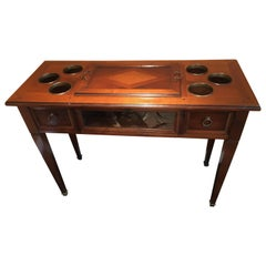 20th Century Wood Bar Table by Provasi, Italy