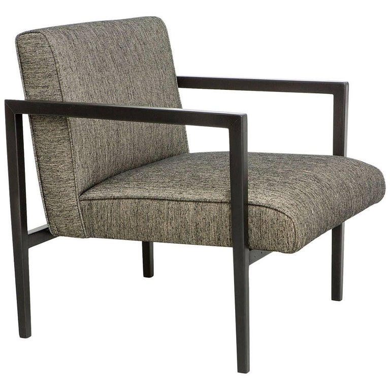 """R3"" Armchair, Branco & Preto, Brazilian Midcentury For Sale"