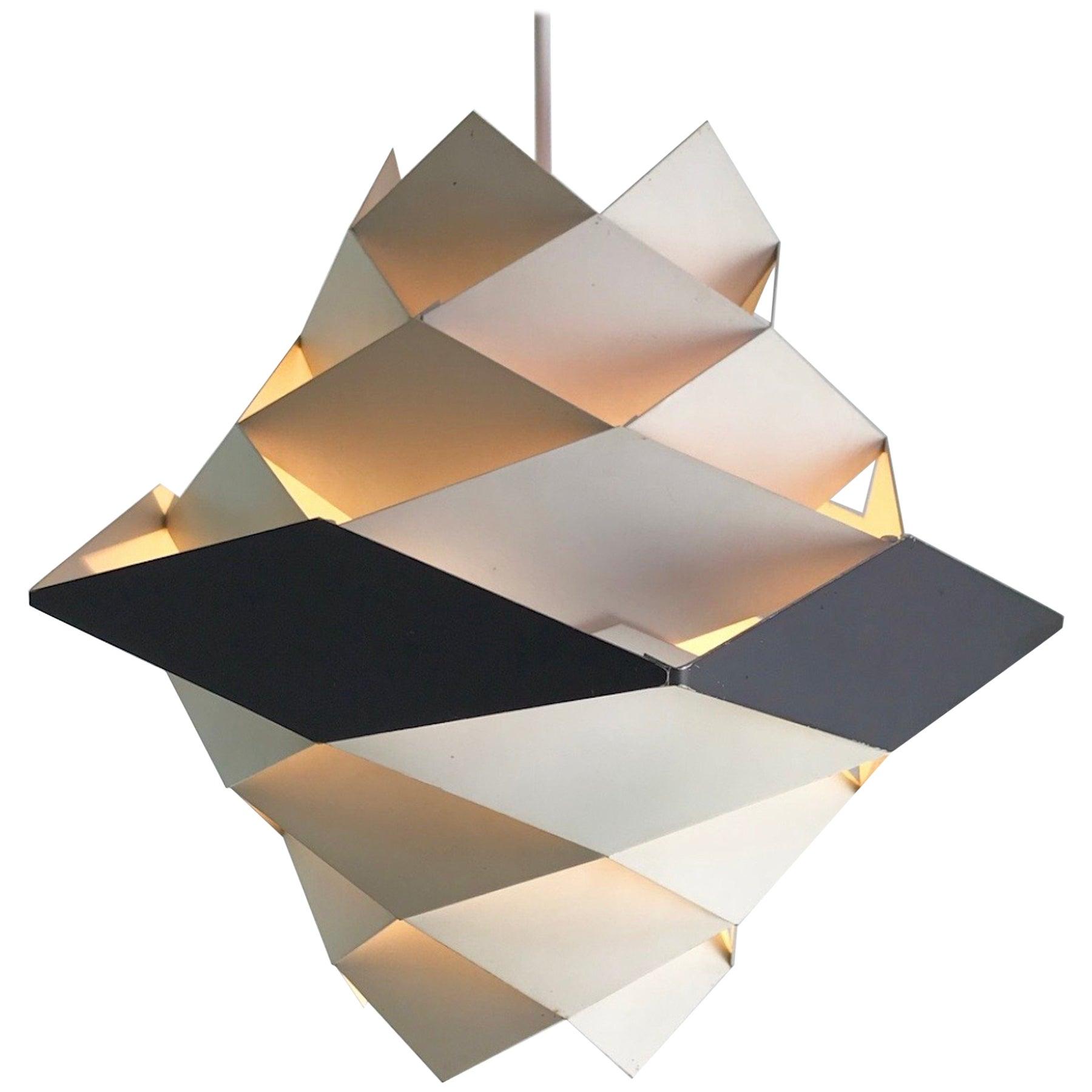 Rare Danish Ceiling Pendant by Preben Dal for Hans Følsgaard AS, Mid-1960s