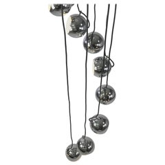 Rare Cluster Chandelier by Harvey Guzzini
