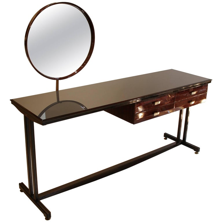 Elegant 1960s Italian Dressing or Vanity Table