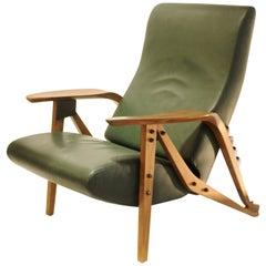1980s Zanotta Italy Reissue of Carlo Mollino's Iconic 1950s Modulable Armchair