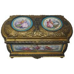 19th Century Sevres Casket