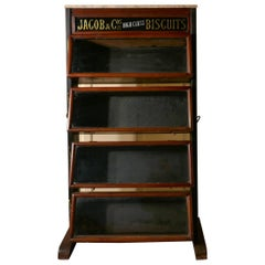 Jacob & Co's High Class Biscuits Shop Display Cabinet