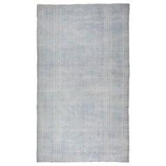 Antique Indian Cotton Flat-Weave Carpet