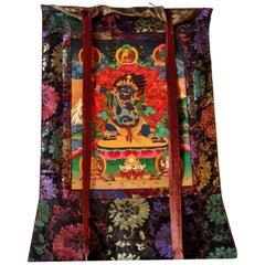 Tibetan Thanka Dorje Drolo, Hand-Painted