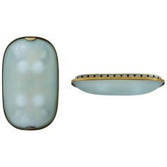 Two Glass Flush Mount or Sconces by Fontana Arte