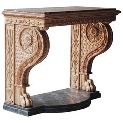 19th Century Swedish Empire Console Table