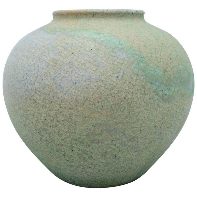 Art Deco Ceramic Vase by Chris Lanooy For Sale