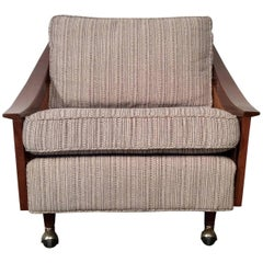 Unique And Restored Mid Century Modern Chair By Iconic Galloways Of Tampa