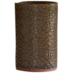 Ceramic Textured Vase by Dumais Made