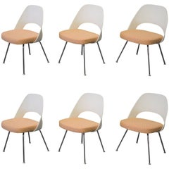 Set of Six Eero Saarinen for Knoll Side Chairs