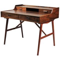 1960s Arne Wahl Iversen Desk in Rosewood by Vinde Møbelfabrik