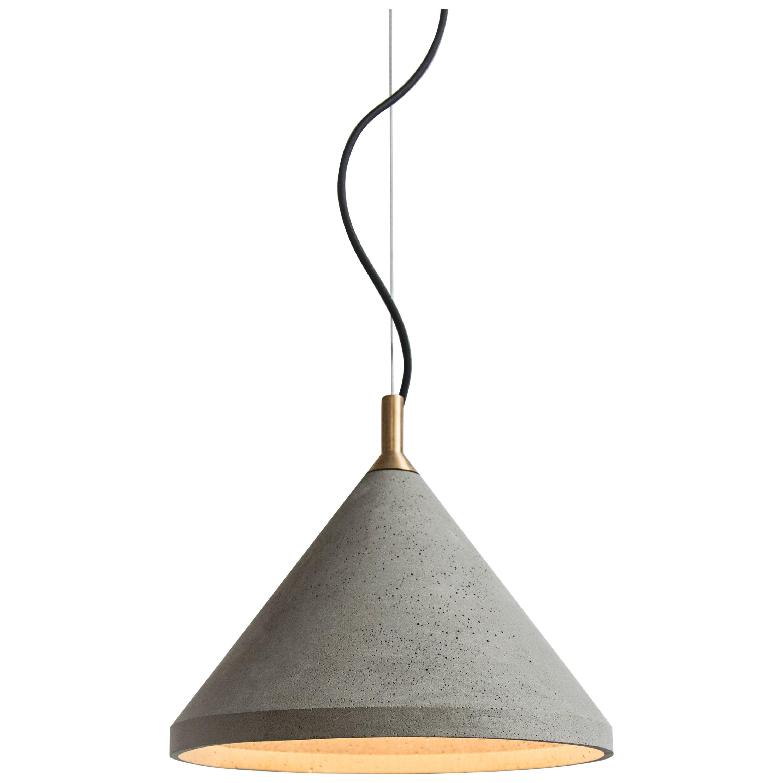 Ren 2, Concrete Ceiling Lamp by Bentu Design