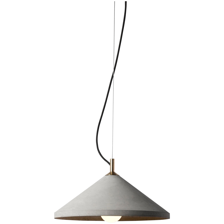 Ren 3, Concrete Ceiling Lamp by Bentu Design