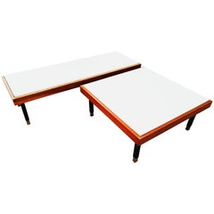 1950s French Modular Set of Coffee Table