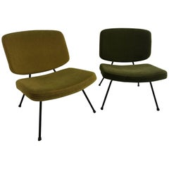 Pair of CM190 Chairs by Pierre Paulin