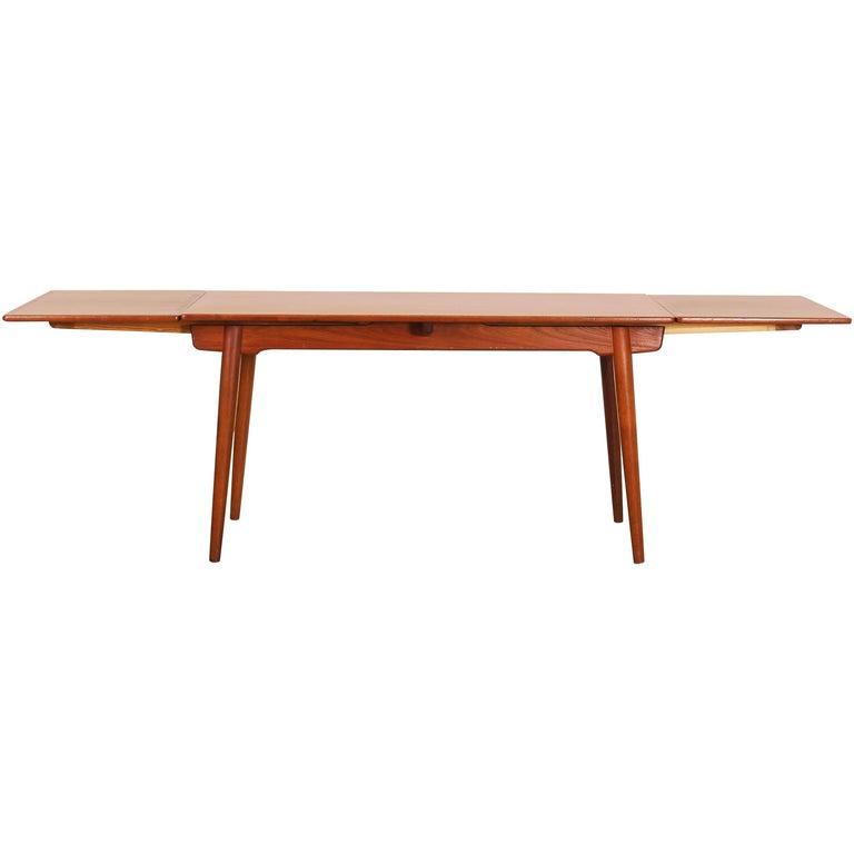 Dining Table by Hans J. Wegner for Andreas Tuck Denmark AT 312, Denmark, 1950s