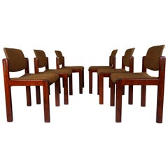 Set of Six Chairs by Lubke, 1960, West Germany