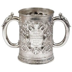 William Ker Reid Two Handled Silver Trophy Cup