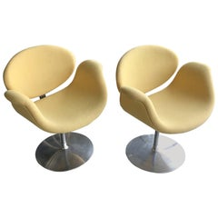 Pierre Paulin Little Tulip Pair of Chairs by Artifort