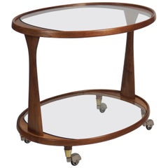 1960s Bar Cart by Cesare Lacca