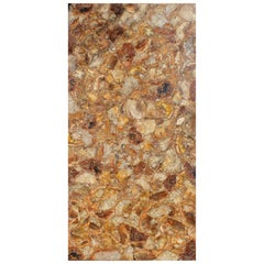 Fossilized Tree Pietre Dure Hardstone Mosaic Table Top