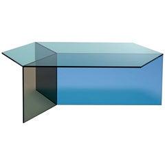 Isom Oblong Multi Side Table in Tempered Glass