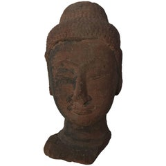 Stone Head of Buddha,16th Century
