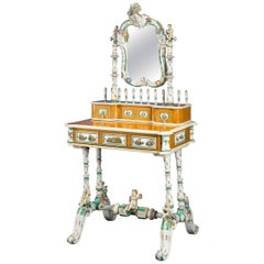 19th Century Meissen Porcelain Dressing Table