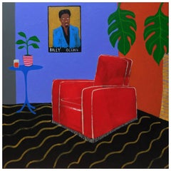 'Ocean View Apartment' Portrait Painting by Alan Fears