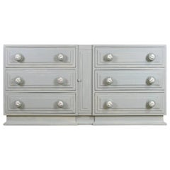 Hand-Painted Six-Drawer 'Equestrian' Chest by Maslow Freen