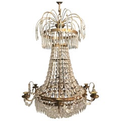 Swedish Gustavian style Chandelier