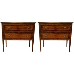 Pair of 19th Century  Italian Commodes