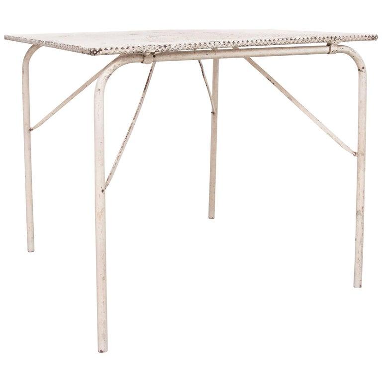 Mathieu Matégot Folding Table, circa 1950