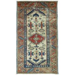 Persian Heriz Throw Rug