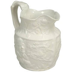 Antique English Porcelain Jug or Pitcher